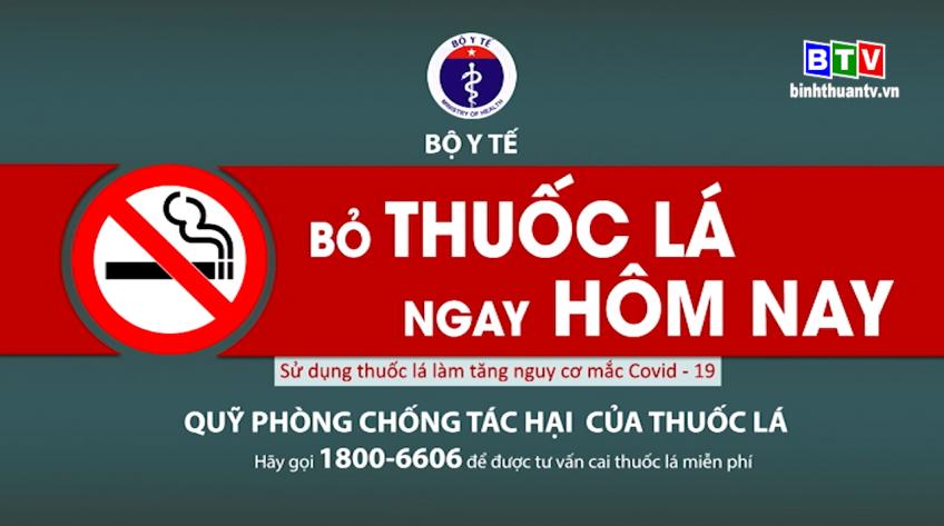 Thông điệp phòng chống tác hại thuốc lá 17.10.2020