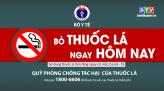 Thông điệp phòng chống tác hại thuốc lá  ngày 28.12.2020
