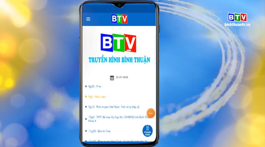 Giới thiệu ứng dụng Chương trình truyền hình Bình Thuận - THBT